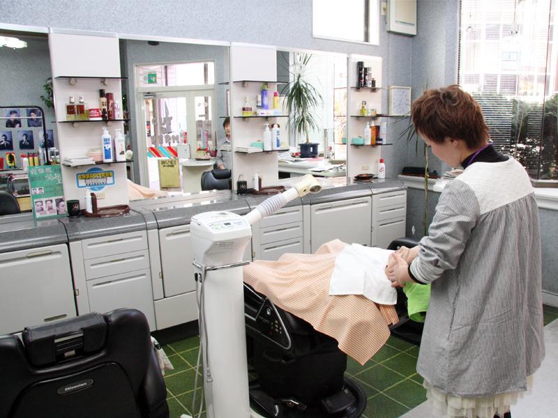 香木理美容室