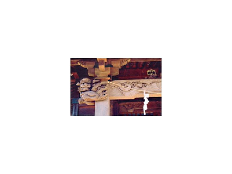 江森社寺彫刻